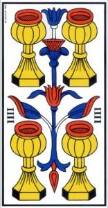 la coupe arcane mineur tarot de marseille