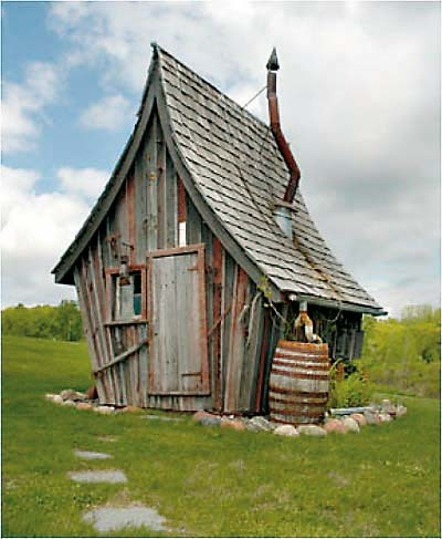 rêve cabane fond du jardin