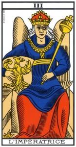 tarot impératrice