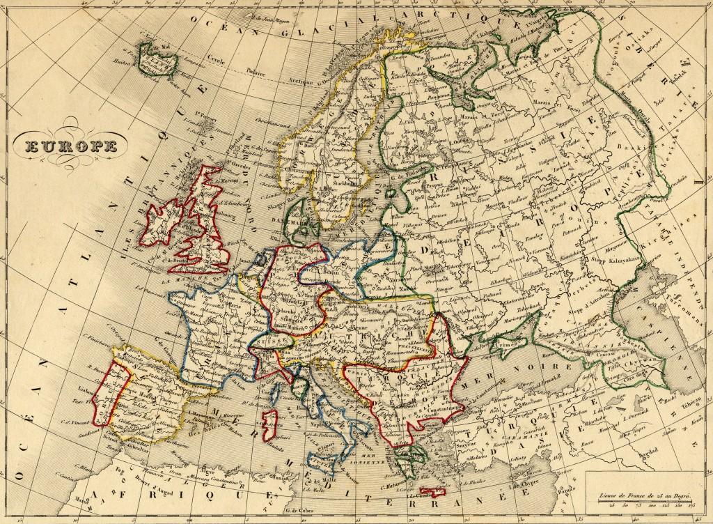 rêve carte monde