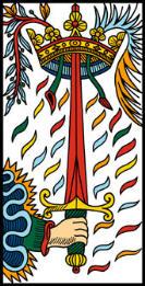 carte tarot épée