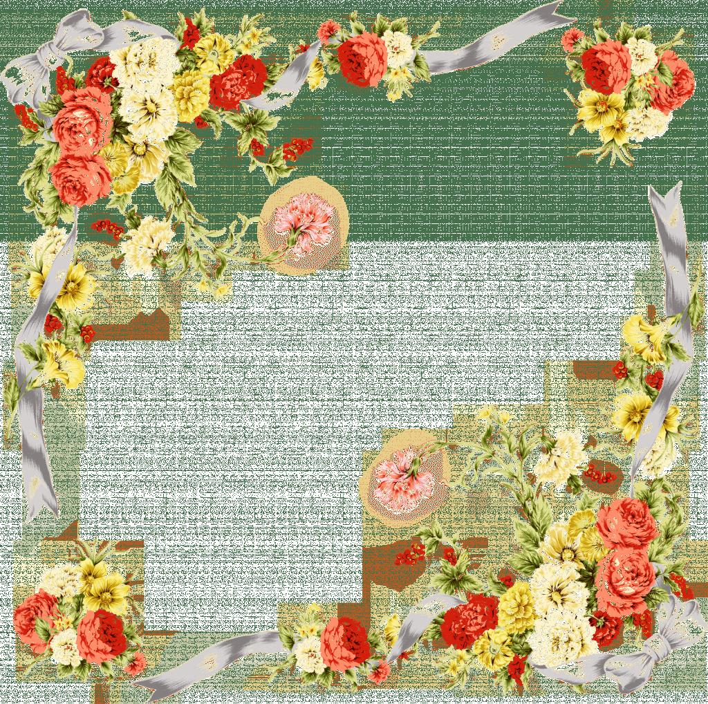 rêve cadre ornement fleur