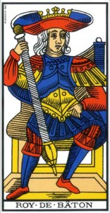 tarot le roi