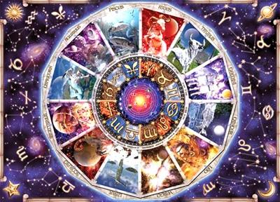 tarot et roue astrologique