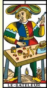 carte le bateleur tarot de marseille