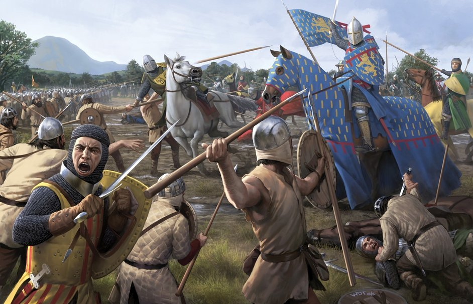141133__art-battle-battlefield-war-weapons-sword-spear-horse-horse-dead-the-middle-ages_p