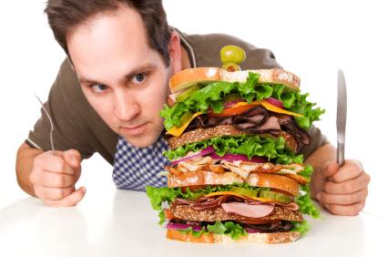 rêve avoir faim hamburger