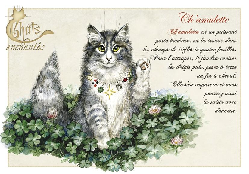 le chat amulette