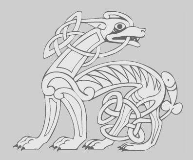 le chien amulette