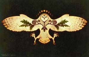 talisman hibou