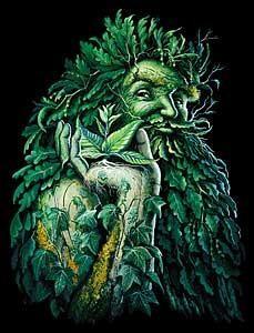 homme vert
