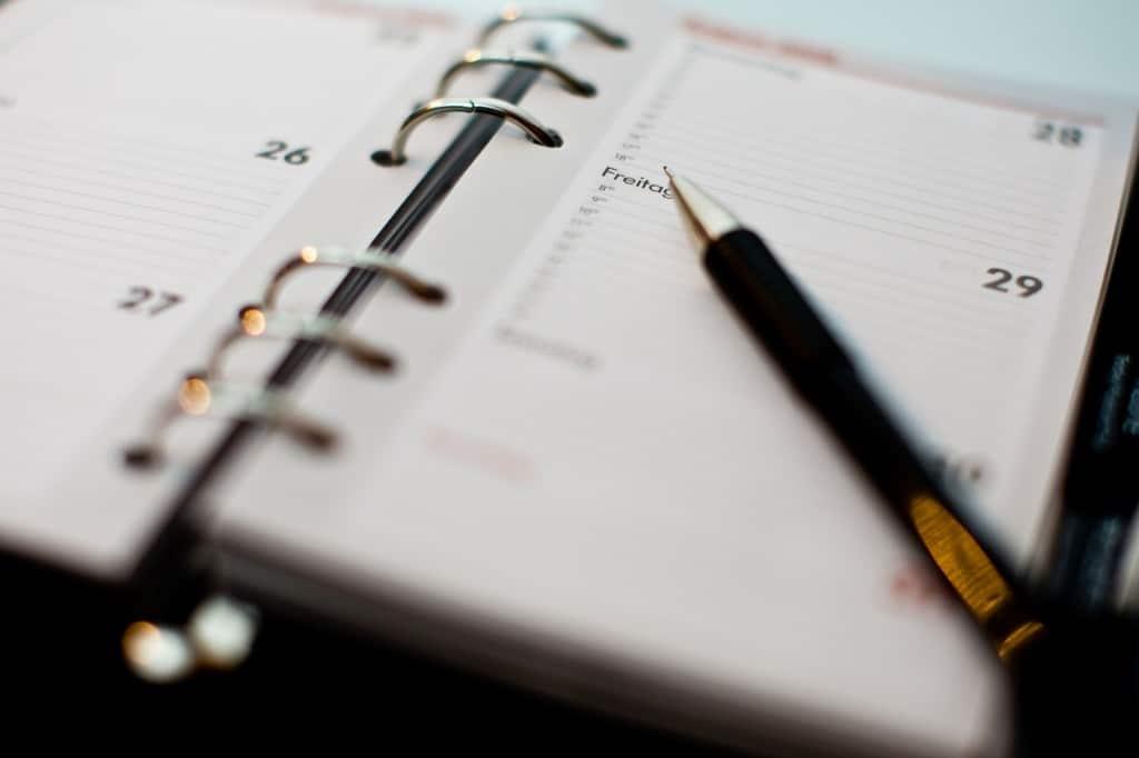 liste et planning pour tête en l'air