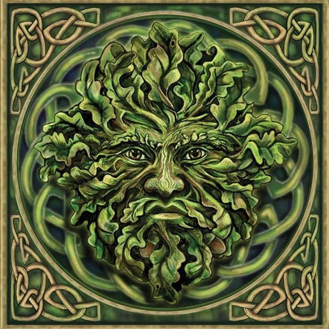 homme vert légende