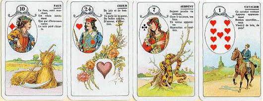 tirage de carte divinatoire