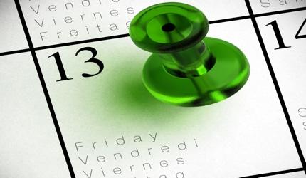 Pourquoi le vendredi 13 porte malheur divinatix for Le numero 13 porte malheur
