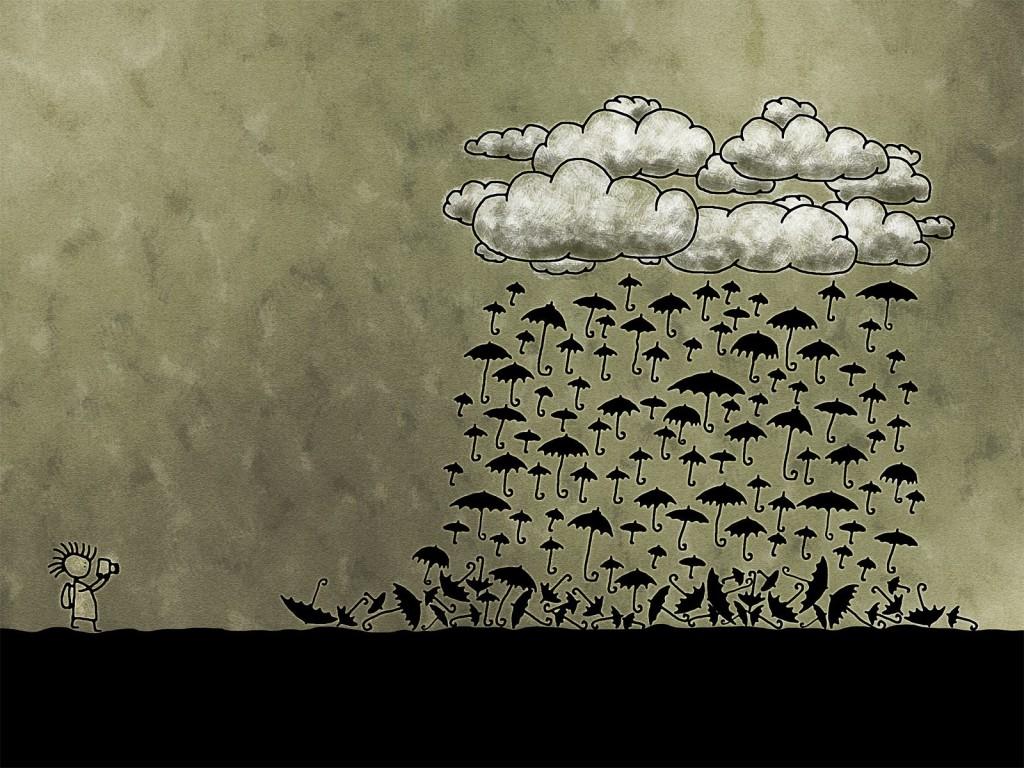 parapluie superstition