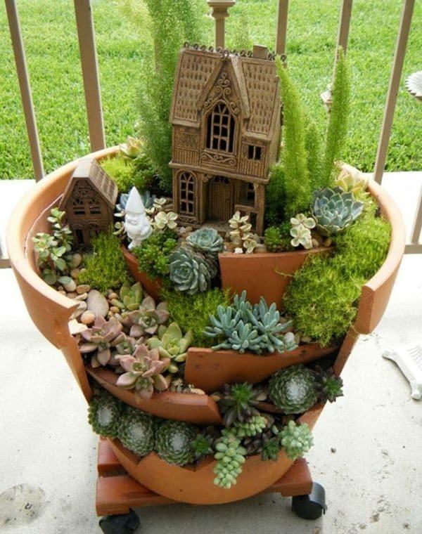rêve de pots de fleurs
