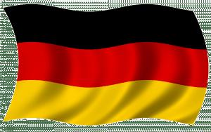 drapeau allemand et superstition