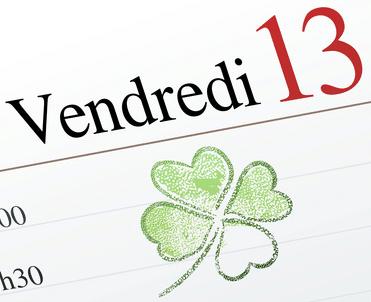 Le vendredi 13 porte bonheur divinatix for 13 porte malheur