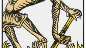 La Mort – Tarot de Marseille