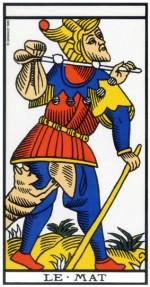 Le fou (ou le mat) – Tarot de Marseille