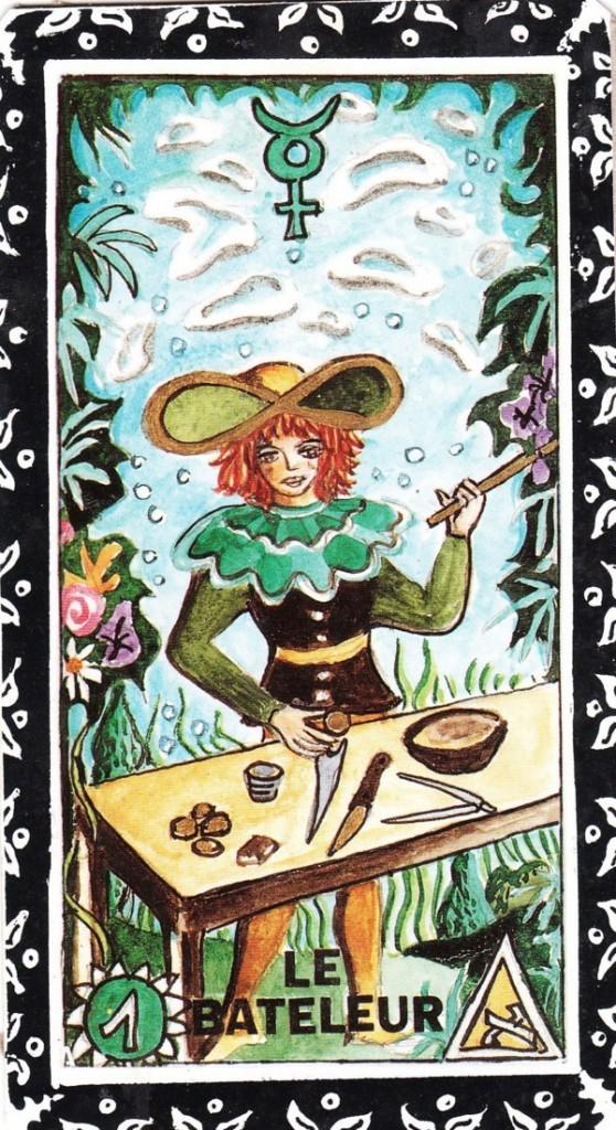 La-premiere-carte-du-Tarot-Symbolique-le-Bateleur-ou-Magicien