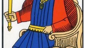L'Empereur – Tarot de Marseille