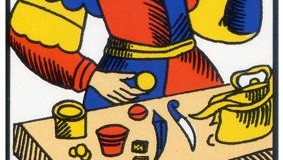 Le Bateleur – Tarot de Marseille