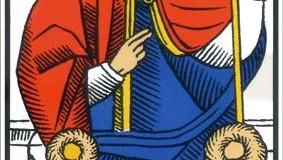 Le Pape – Tarot de Marseille