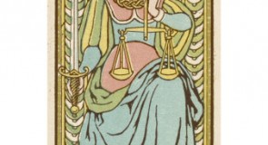 La Justice – Tarot de Marseille