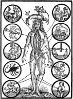 Parties du corps et signes astros