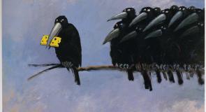 Rêver de corbeau