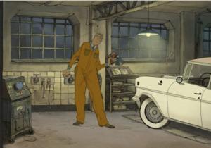 Rêver de garage